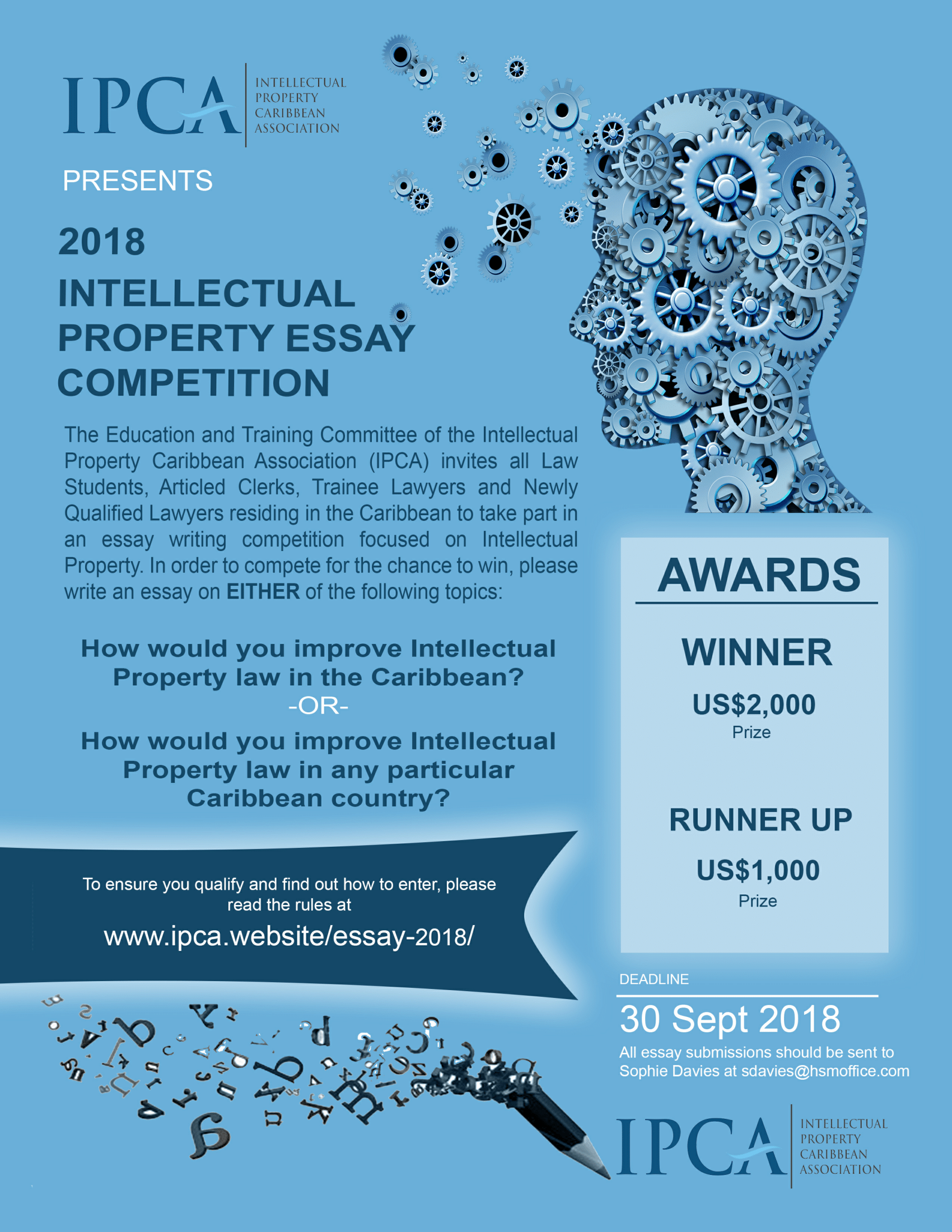 Schurman Advocaten » IPCA Intellectual Property Essay Competition